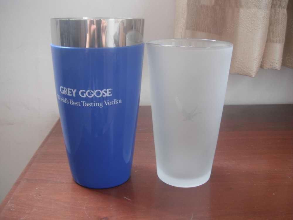 Boston Cocktail Shaker with Rubber Coating