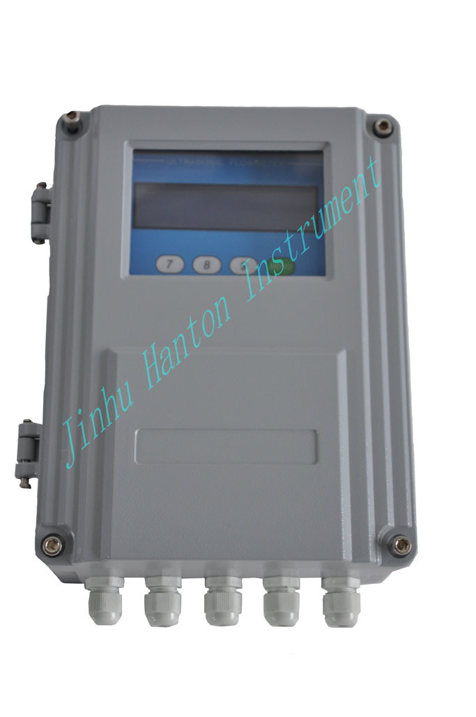 Silver Carbon Steel Ultrasonic Flow Meter (Flowmeter)