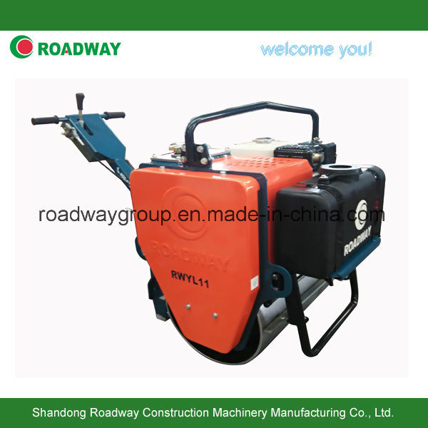 Single Drum Vibratory Road Roller Walk Behind Type