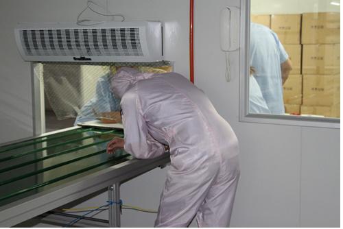 High-Quality LED Panel Module Clean Room Prodution Exit