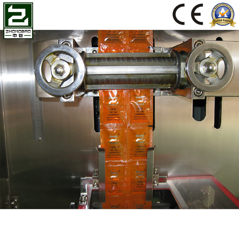 Catsup Four-Sidesealing Packing Machine with Servo Motor
