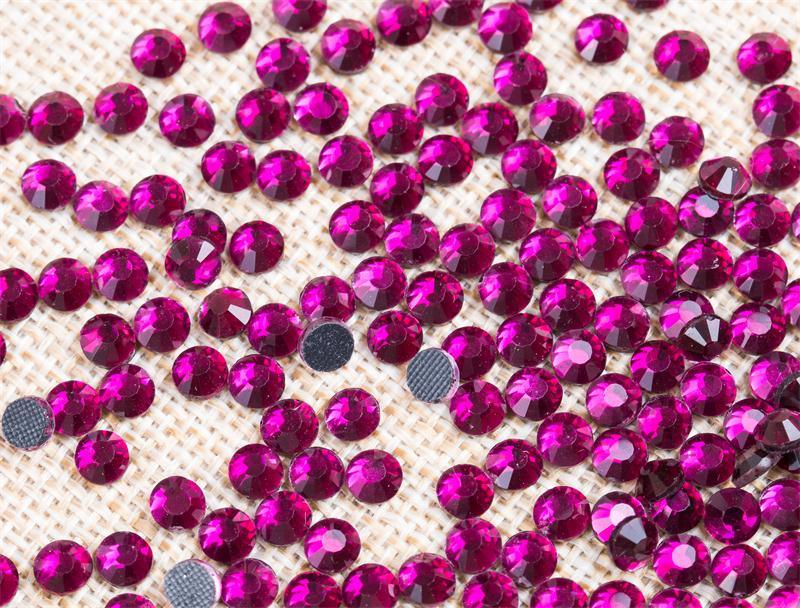 Wholesale Bulk Loose Rhinestones Flatback DMC Hot Fix Rhinestone Rgd-014