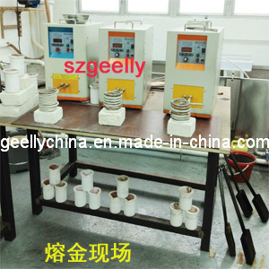 Ultrahigh Frequency Induction Heating Machine/Melting Gold Machine/Powder Melting/Metal Melting