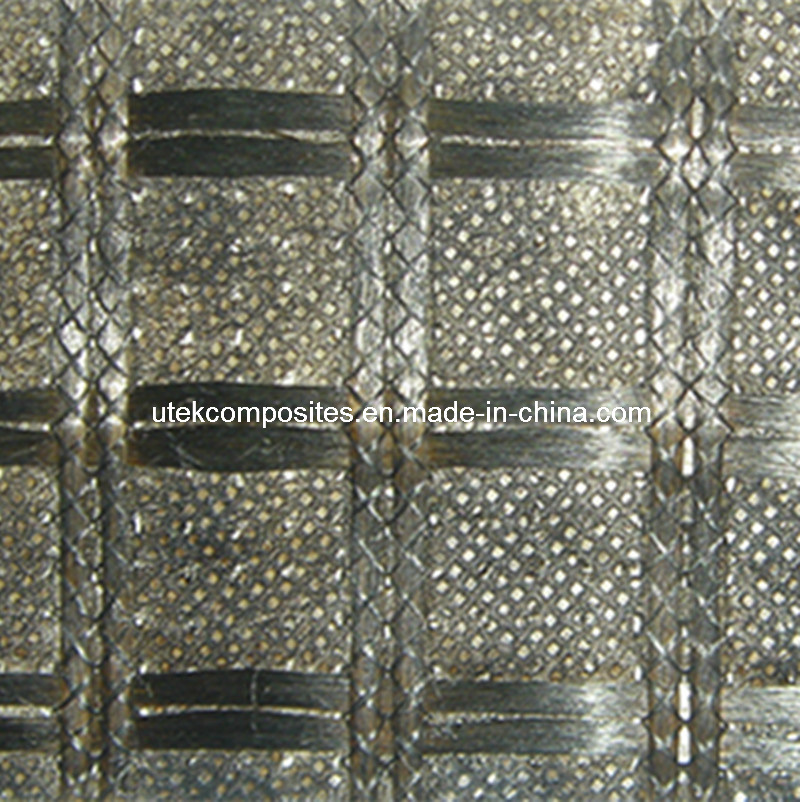 Bitumen Coated Fiberglass Geogrid with Light Weight Nonwoven