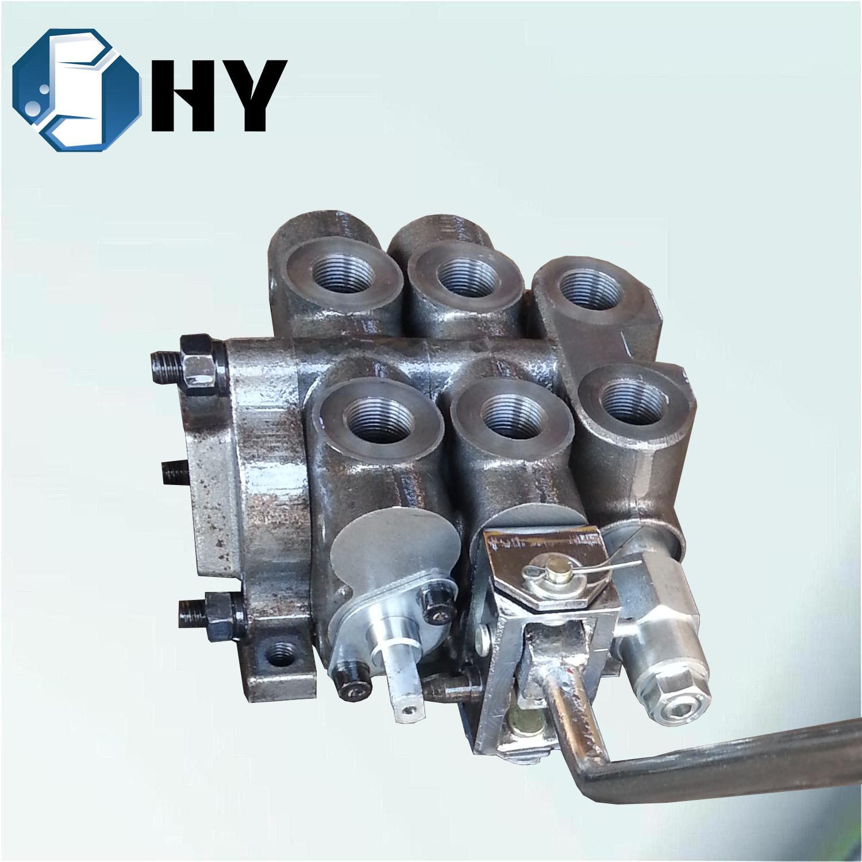 ZCDB 2 Spool Hydraulic Multiple Directional Pump Control Spool Valve