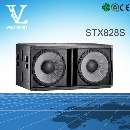 Stx828s Dual 18inch Big Power Outdoor Subwoofer Speaker