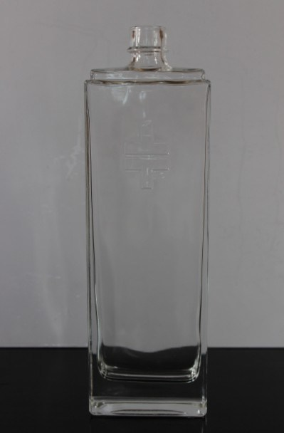 375ml/750ml/1 Liter Custom Alcohol Glass Bottle