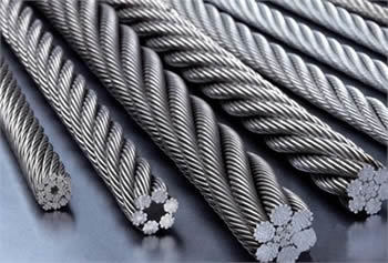 Stainless Steel Wire Rope 6X19 Iwrc
