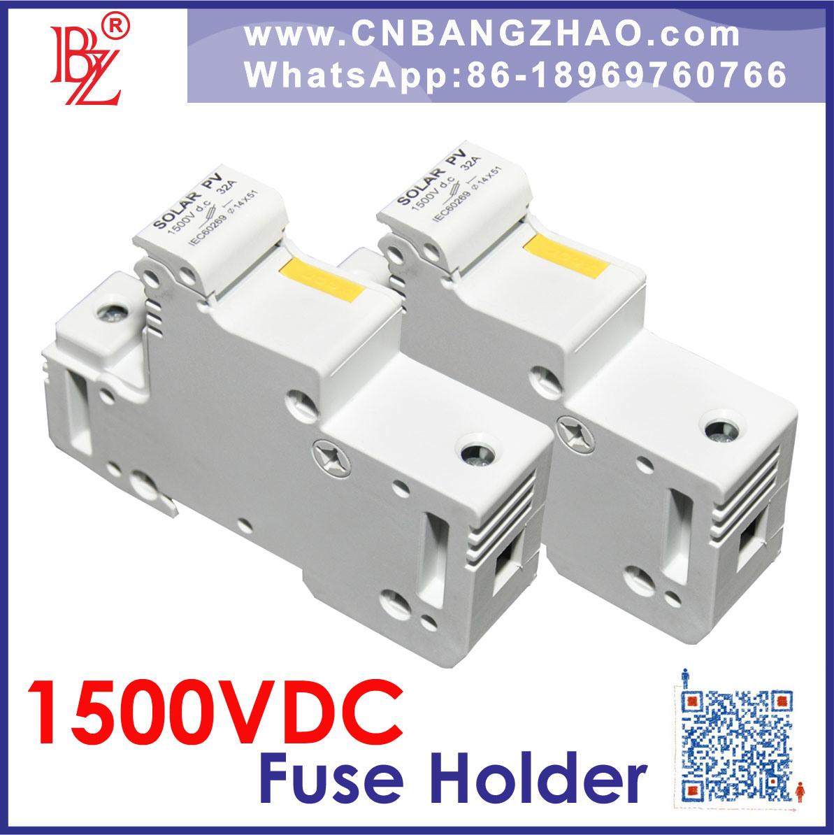 High Voltage 1500V Solar System Fuse Connectors
