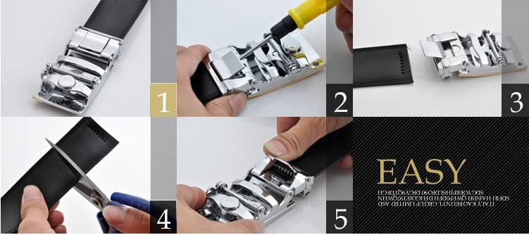 Leather Belts for Men (DS-170308)