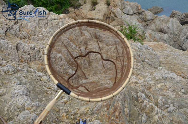 Long Handle Carp Bamboo Tenkara Fishing Landing Net