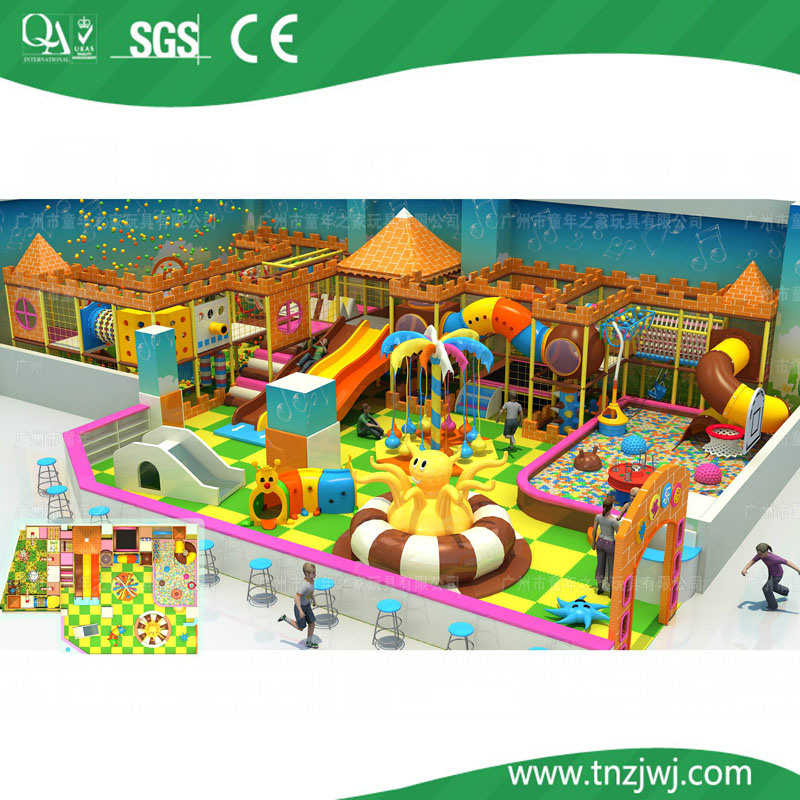 Ce jungle theme kids indoor playground equipment for sale for Indoor play structure prices