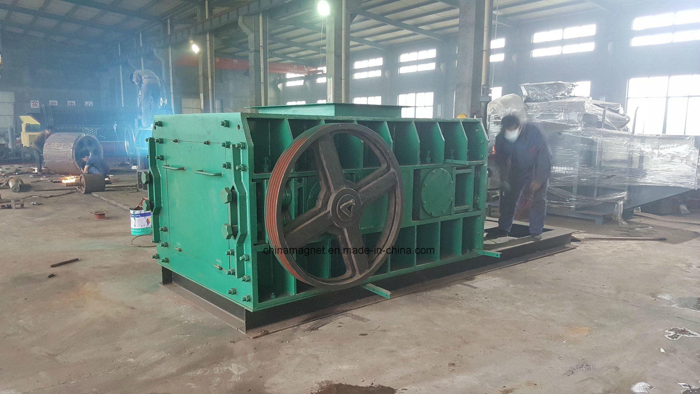 2pg Mining Crusher/Roller Crusher/Double Roll Crushing Machine for Coal/Coke/Refactory Material Crushing