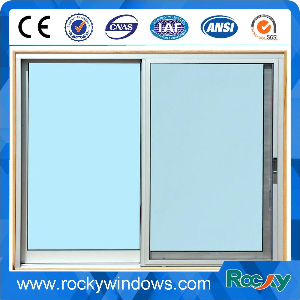 Sliding Aluminum Window/Aluminum Wood Grain Sliding Window and Door