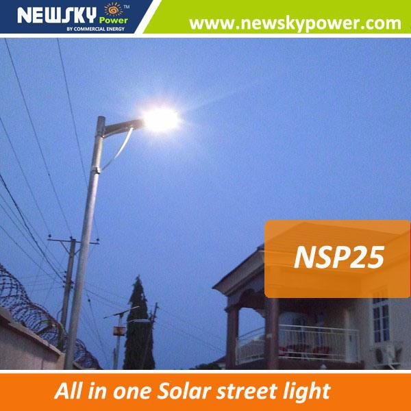 High Efficiency 40W Solar Motion Sensor Light