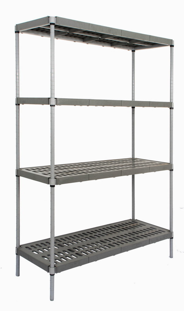 Plastic Shelving Rack Polymer Shelving China Plastic