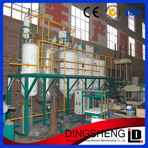 Manufacturing for Small Scale Crude Sunflower Oil Refining Equipment