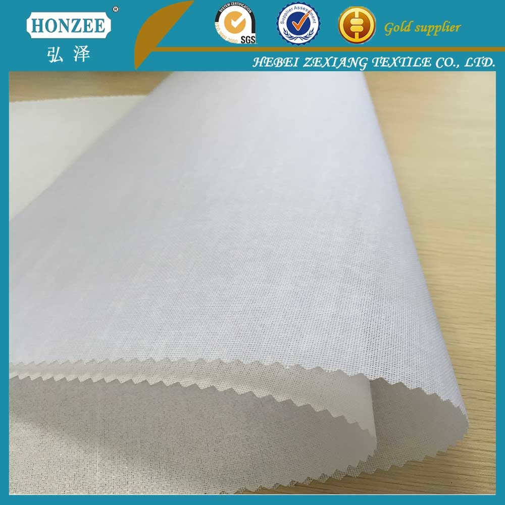 Woven Fusible Interlining for Shirt
