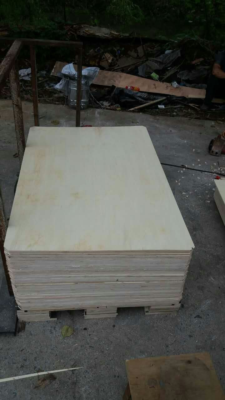 Poplar Plywood High Quality for Packing 8mm