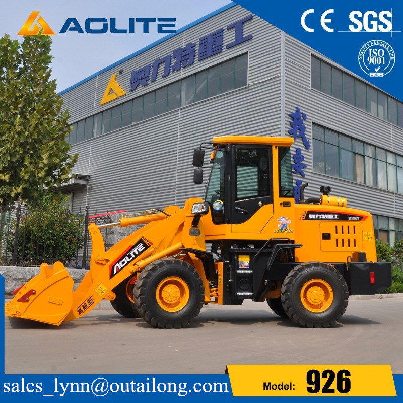 New Type Construction Machine for Small Wheel Loader with 1200kg