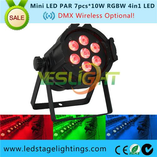 10W*7PCS LED PAR Can as Stage LED PAR