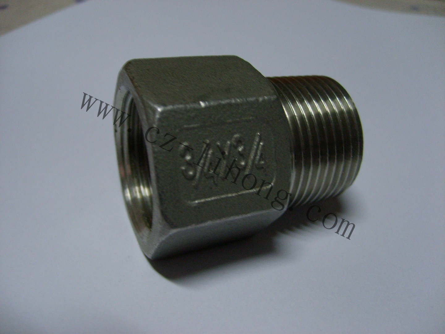"3/4"" Stainless Steel 316 DIN2999 Socket From Pipe"