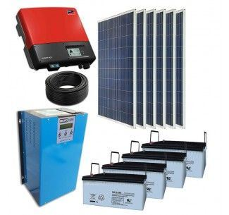 Home Use off Grid Solar PV Panel Energy Power System Kit