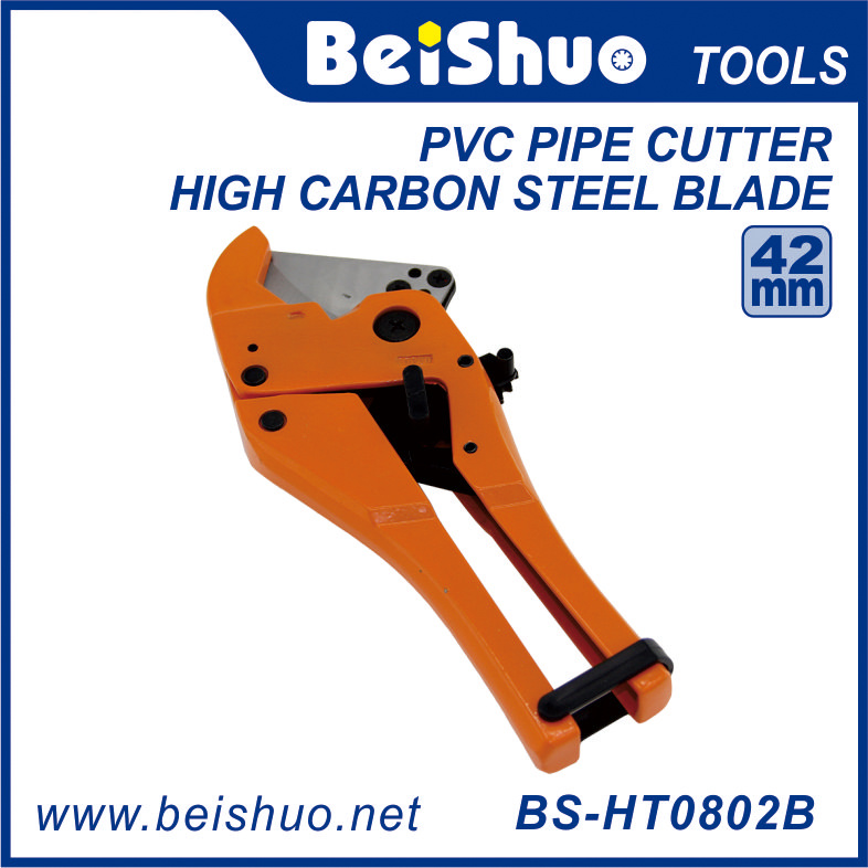Professional Plastic Hose Ratcheting PVC Plumbing Pipe Cutter Tool
