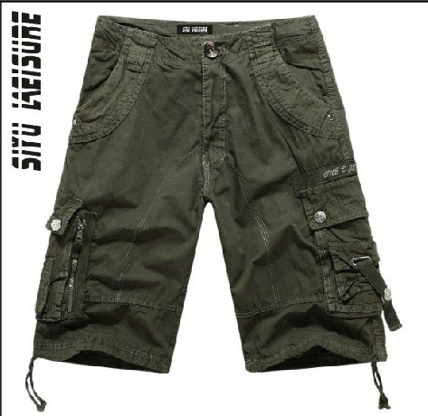 Men Cotton High Quality Fashion Board Bermuda Shorts (YF001)