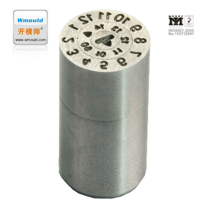 Metal Mold Parts Date Stamps Date Code Insert
