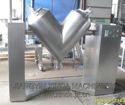 High Efficient V Type Mixer