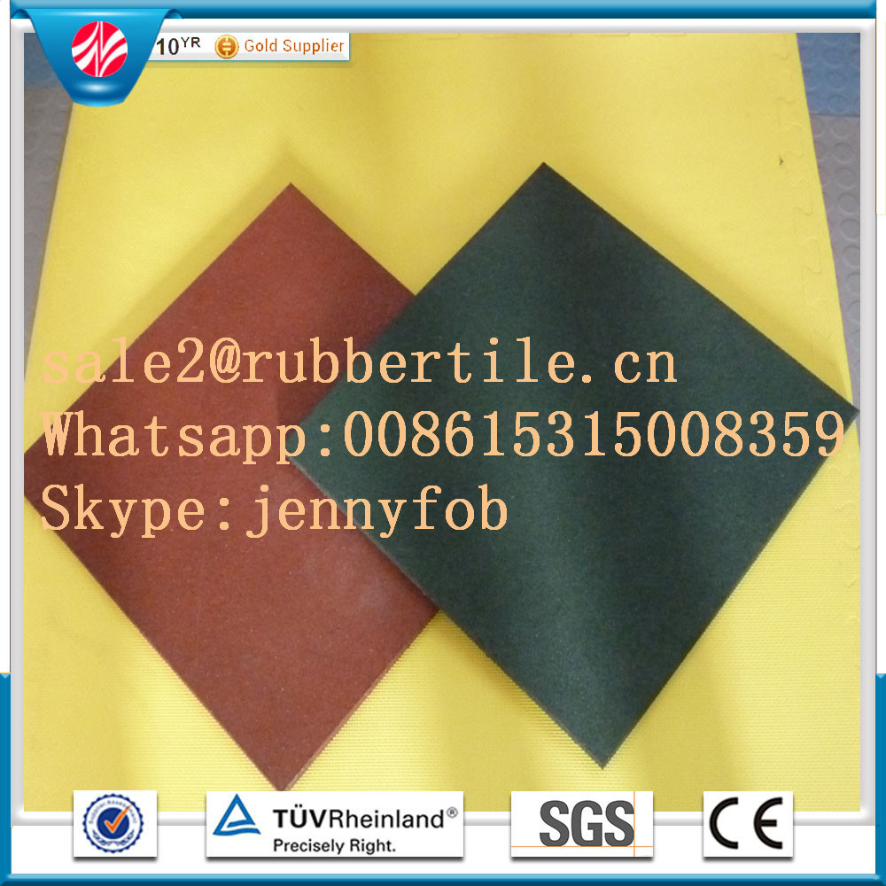 Interlocking Rubber Tiles, Rubber Stable Tiles, Sports Rubber Flooring