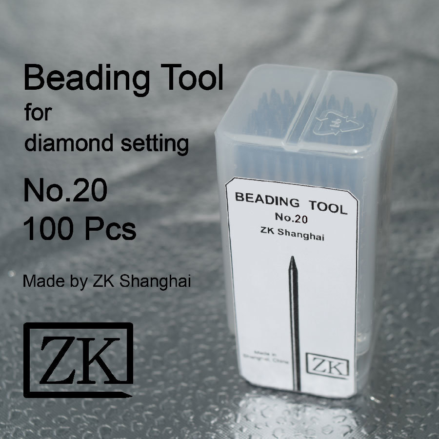 Beading Tools - No. 20 - 100PCS - Stone Setting Tools