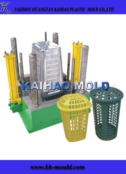 Plastic Trash Bin Injection Moulding Maker (KH-2013010)