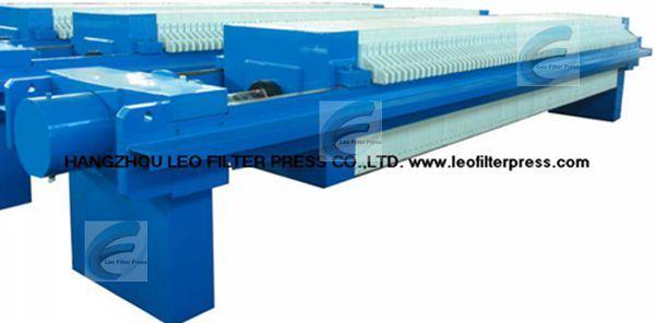 Leo Filter Press High Filtering Pressure Clay Filter Press