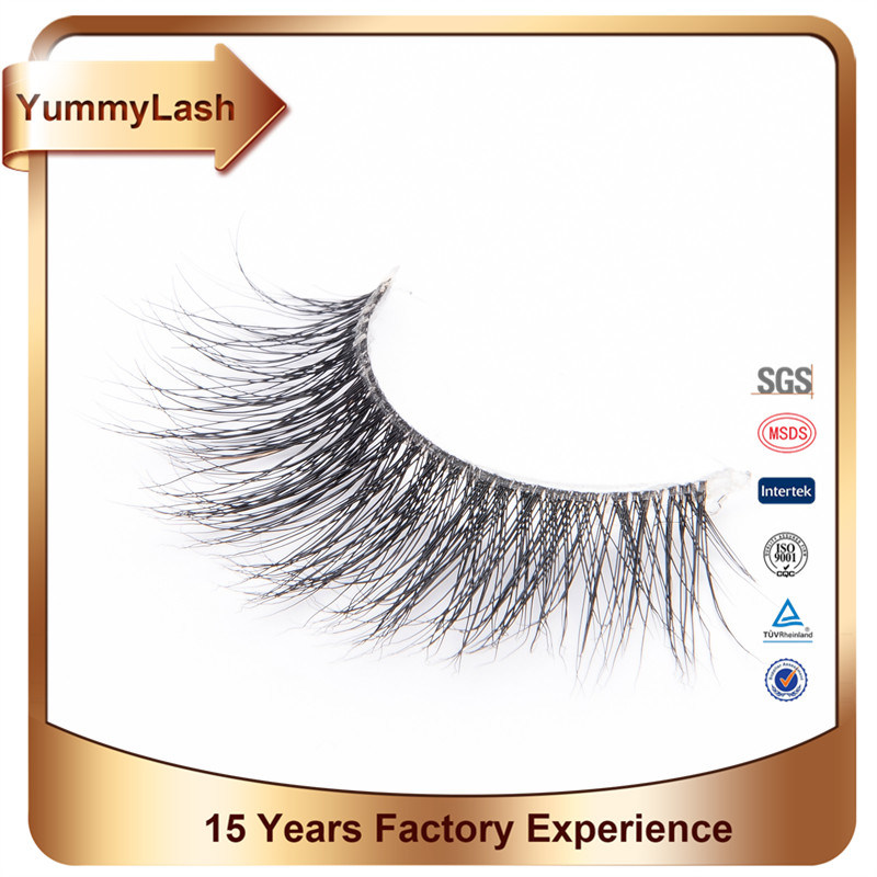 Wholesale High Quality Private Label Custom Brand 3D Mink Eyelashes