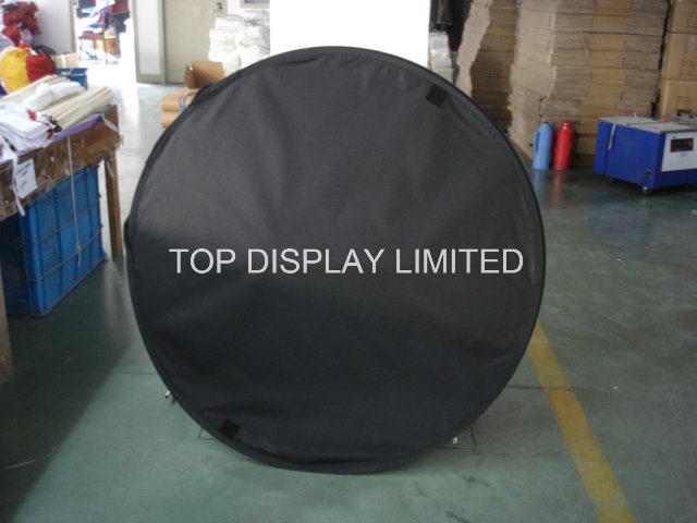 Retractable a Frame Pop up Banner Stand/Pop up a Frame Fabric Display Banner, Portable Folding Pop up a-Frame Outdoor Sports/Event/Advertising/Exhibition