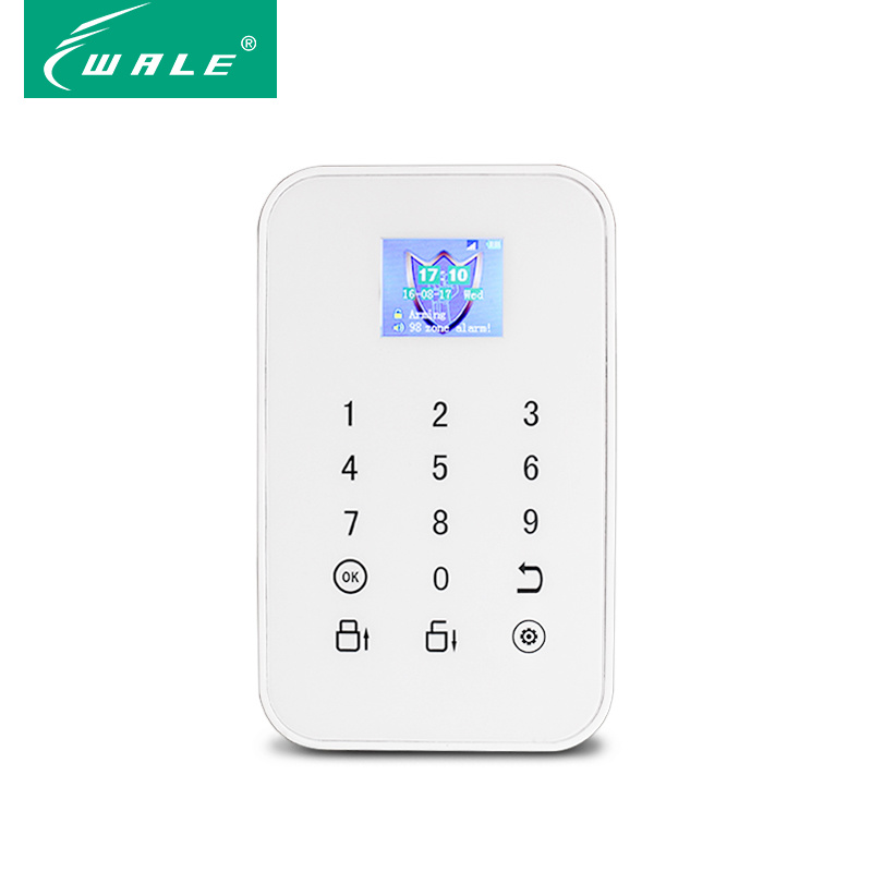 Intelligent Wireless GSM Home Alarm System Security with TFT display
