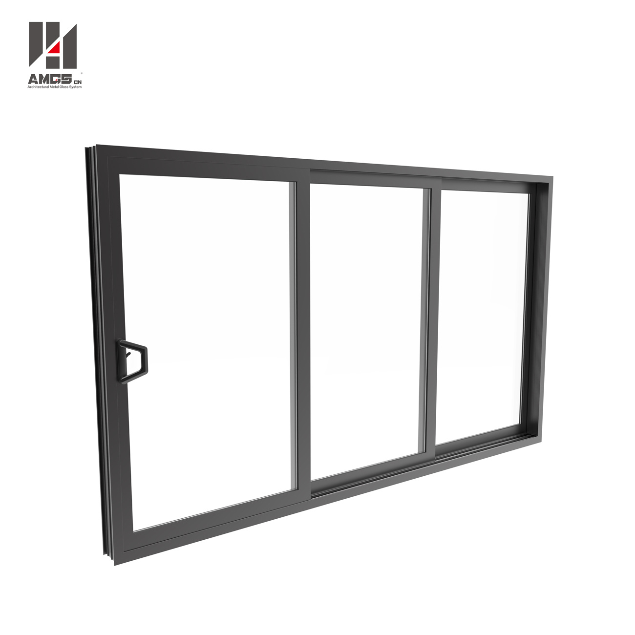 Hot Sale Soundproof Double Glazed Aluminum Sliding Window
