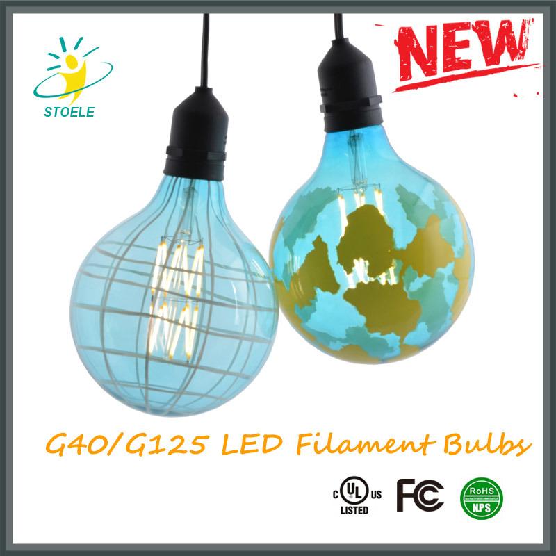 G40/G125 LED Light Bulbs 4W/6W/8W 420/650/850lumens UL Listed, Ce Certificate