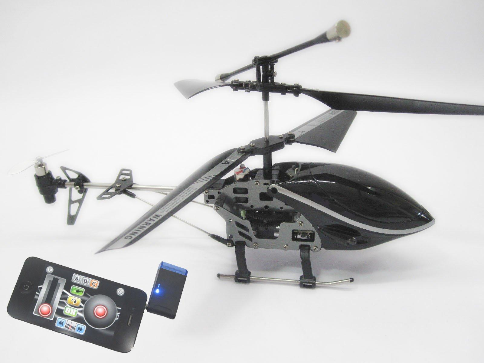 RC Helicopter Controlled by iPhone and iPad