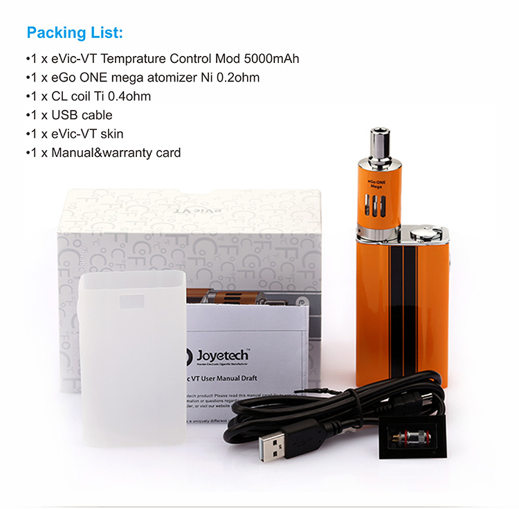 Joyetech Evic-Vt 5000mAh 60W Temperature Control Mod E Cigarette