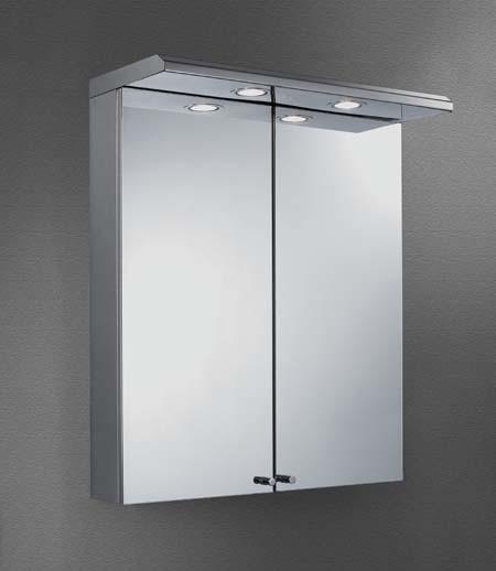 Banheiro Mirror Cabinet com Light (CBA5067L) –Banheiro Mirror Cabinet com Li -> Armario De Banheiro Com Espelho E Luz