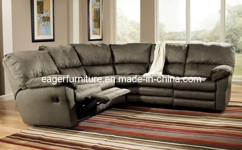 sectional recliner fabric sofa es2008 china sofa recliner sofa