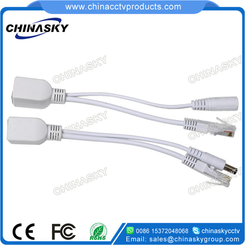30m-Pair Passive Poe Cable with Poe Splitter and Injector (POE30M)