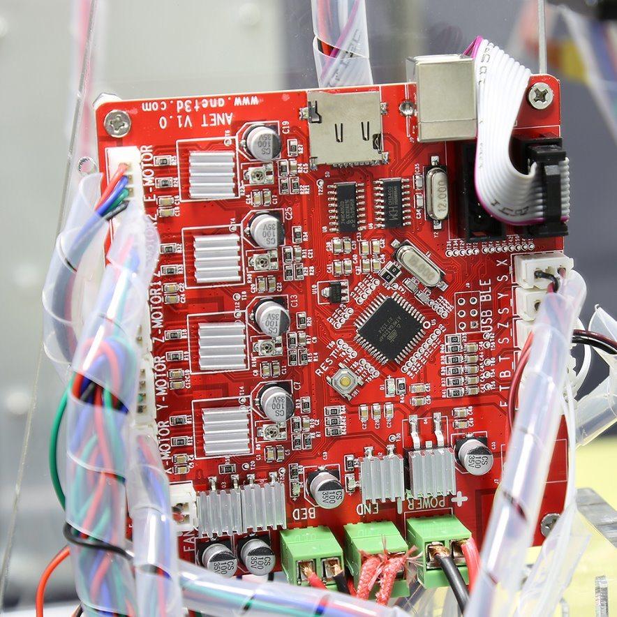 Anet A8 Transparent 3D Printers High Precision Fdm DIY 3D Printing Machine