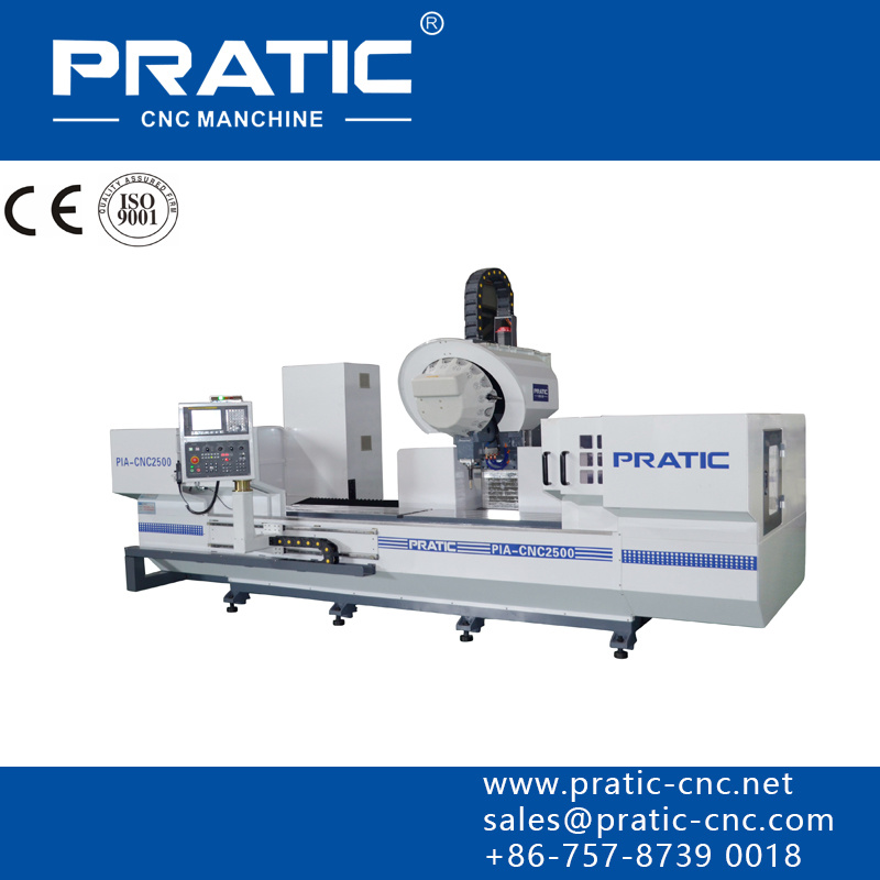 CNC Aluminum Window Parts Processing Machine Center-Pratic-Pia