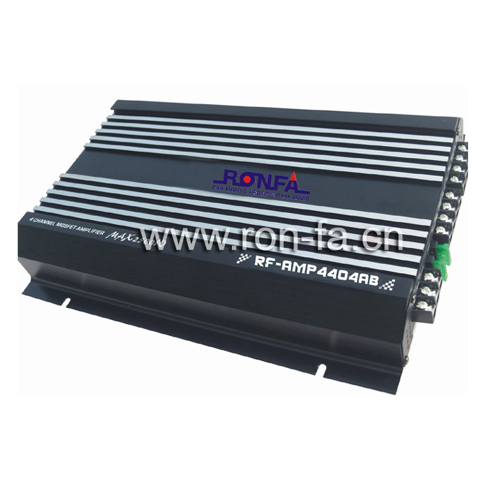 Car Amplifier (RF-AMP4404AB) RMS: 60w*4CH - China Car Amplifier, Car ...
