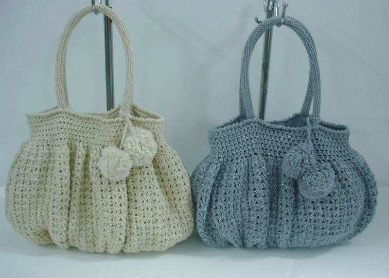 Free Patterns For Handbags : China Crochet Bag (28E 2713 1 2) China Knitting Bag, Weave Bag
