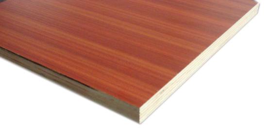 Melamine faced plywood china okoume